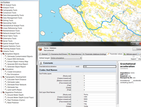 Screenshot of Untamo tools for safety analysis of spent nuclear fuel in Olkiluoto